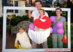 Tons of ideas for Halloween costumes for the whole family