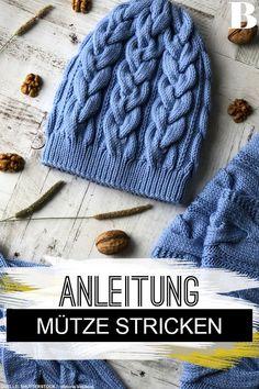 Knit hat: The best BRIGITTE instructions- Knitting pattern: Knit hats . Knit hat: The best BRIGITTE instructions- Knitting pattern: Knit hats: The best BRIGITTE instructions. You can& kni. Knitting Projects, Crochet Projects, Knitting Patterns, Knitted Blankets, Knitted Hats, Crochet Hats, Knit Crochet, Easy Knitting, Knitting For Beginners