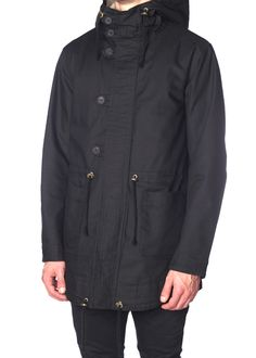 Blackbird - Robert Geller - Mods Parka in Black