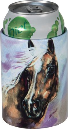 Horse Head Aluminum Insulated Can Cooler