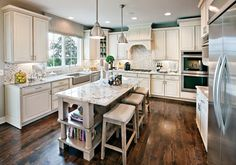 River Ridge at Wilton by Toll Brothers - The New Southwick Model Home Features this Stunning Kitchen