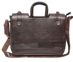 Comfort 12 inch Pure Leather Brown Laptop Bag for men and women unisex EL44