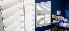 Palm Beach™ Our Palm Beach™ Polysatin™ shutters are plantation-style shutters constructed with UV resistant Polysatin™ compound, so they're guaranteed never to warp, crack, fade, chip, peel or discolor, regardless of extreme heat or moisture.
