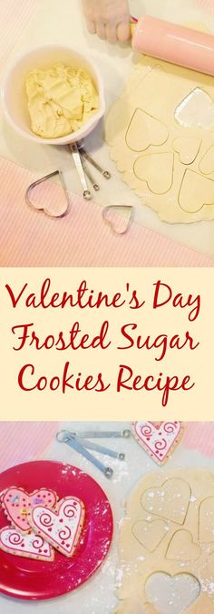 Valentine's Day Frosted Sugar Cookies Recipe