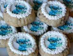Lilo & Stitch, #Disney Stitch #cookies Disney Stitch, Lilo Stitch, Food Themes, Food Ideas, 10th Birthday, Birthday Parties, Lilo And Stitch Merchandise, Disney Themed Food, Stitch And Angel