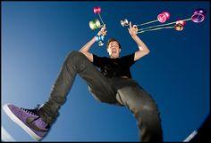 Freestyle YoYo entertainer