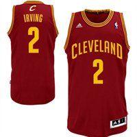 adidas Kyrie Irving Cleveland Cavaliers Revolution 30 Swingman Replica Jersey