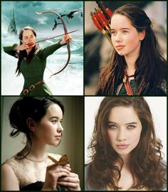 Anna Popplewell as Susan Pevensie i think i would change sexuality for her