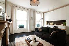 Casa pequeña decorada al estilo nórdico