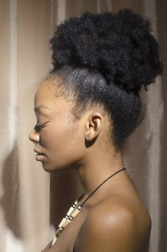 There's Something So Gorgeous about a Simple Afro Puff! I Say Love Thy Crown of Glory! Pelo Natural, Natural Hair Tips, Natural Hair Journey, Natural Hair Styles, Natural Hair Puff, Pelo 4c, Natu Hair, Style Afro, Type 4 Hair