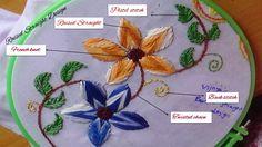 Embroidery designs - Raised Straight Design