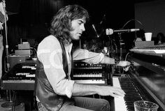 1979. Pete Sears at Piano with Jefferson Starship October 18, 1979 - PETE SEARS Piano, Jefferson Starship, Golden Gate Park, Concert, October, Recital, Concerts, Pianos