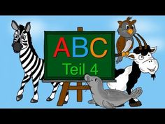 ABC Lied - Buchstaben lernen von S-Z - Alphabet - Kinderlieder deutsch - Phonics song - YouTube