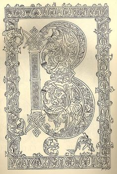Decorative Alphabet by onetwentyeight, via Flickr