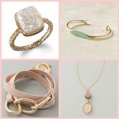 Dara Ettinger Ring, Garnett Bracelet, Gorjana Wrap Bracelet, Dara Ettinger Necklace