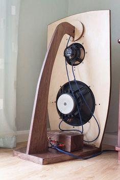 2A3 Maniac: Kleiner Nachschlag zu ´Open Baffle - keine Angst vorm akustischen Kurzschluss´ Home Speakers, Bookshelf Speakers, Built In Speakers, Diy Hifi, Open Baffle Speakers, Sound Speaker, Audio Music, Speaker Design, High End Audio