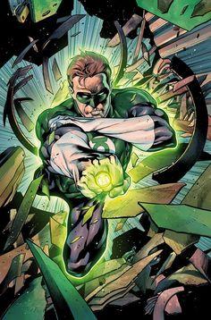 Green Lantern Hal Jordal by Rafa Sandoval
