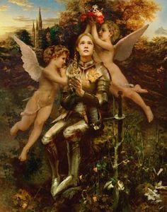 St. Joan of Arc  http://www.catholic.org/saints/saint.php?saint_id=295