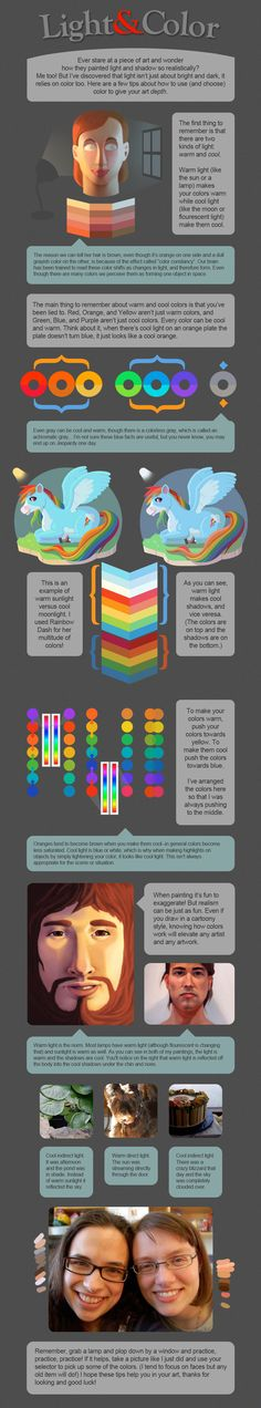 Light and color tutorial   ★ || CHARACTER DESIGN REFERENCES (https://www.facebook.com/CharacterDesignReferences & https://www.pinterest.com/characterdesigh) • Love Character Design? Join the Character Design Challenge (link→ https://www.facebook.com/groups/CharacterDesignChallenge) Share your unique vision of a theme, promote your art in a community of over 25.000 artists! || ★