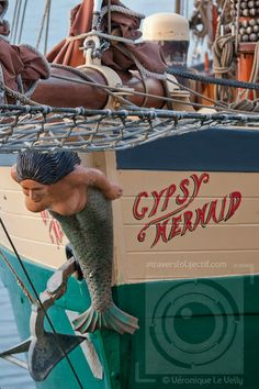 Figure de proue du Gypsy Mermaid