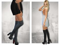 The Sims Resource: Payne Boots 2 by Sentate • Sims 4 Downloads