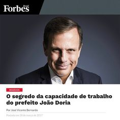 Pessoal, muitos me perguntam qual o segredo da minha disposição e do meu ritmo de trabalho. A resposta é simples: porque gosto do que faço,  porque amo a nossa cidade e porque tenho um compromisso com a população. Aprendi com meu pai, que quando trabalhamos duro, quando nos preocupamos com os outros e não apenas com nossos próprios interesses, não tem como dar errado. Seguimos acelerando nossa São Paulo! #AceleraSP #JoãoTrabalhador