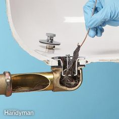 Unclog a Bathtub Drain Without Chemicals - The Top 10 Plumbing Fixes: http://www.familyhandyman.com/plumbing/the-top-10-plumbing-fixes