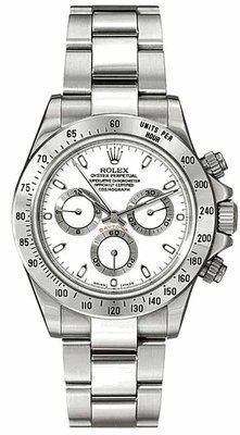 ROLEX | Review Rolex Daytona White Index Dial Oyster Bracelet Mens Watch 116520WSO By Rolex | REVIEW ROLEX WATCHES