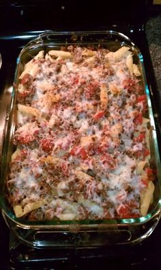 Recipe: Baked Penne with Deer Meat. Recipe: Baked Penne with Deer Meat. Deer Meat Recipes Ground, Ground Venison Recipes, Hamburger Meat Recipes, Sausage Recipes, Venison Meals, Recipes With Deer Meat, Recipes With Beef Fajita Meat, Deer Meet Recipes, Deer Burger Recipes