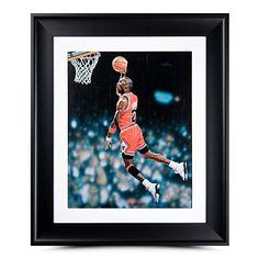 MICHAEL JORDAN Hang Time Oil Painting UDA - Game Day Legends - www.gamedaylegends.com Sports Memorabilia