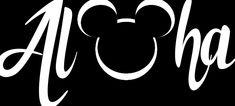 Aloha Mickey Head Decal Blue Lion, Mickey Head, Decals, Artsy, Tattoos, Disney, Tags, Tatuajes, Sticker