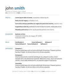 12 free resume templates for microsoft word 2007 resume template ideas - Free Resume Layouts