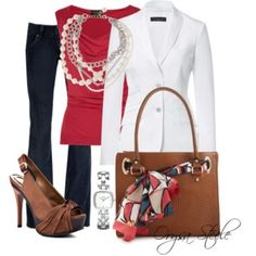 Casual Friday on Polyvore
