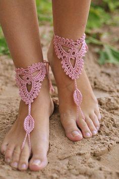 Fun Summer Fashion ~ Barefoot Sandals