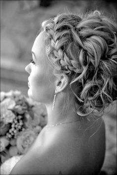 "iweddingstuff: ""(via Wedding Updo For Long Hair - Nuptial Room) "" Homecoming Hairstyles, Formal Hairstyles, Pretty Hairstyles, Wedding Hairstyles, Hairstyles Haircuts, Wedding Hair And Makeup, Wedding Updo, Bridal Hair, Elegant Wedding"