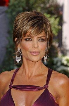 Lisa Rinna on Pinterest | Short Shag, Shag Hairstyles and Haircuts