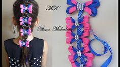 adornos para el pelo clase maestra (por golpes) con perlas, encajes y cinta - YouTube
