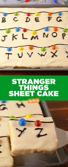 We're FREAKING OUT Over This Stranger Things Sheet Cake