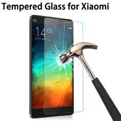2.5d 9 h temperli cam ekran koruyucu için xiaomi redmi 3 3 s için 3x xiaomi redmi note 4 3 2 pro mi4 mi4i mi4c mi4s mi5 filmi