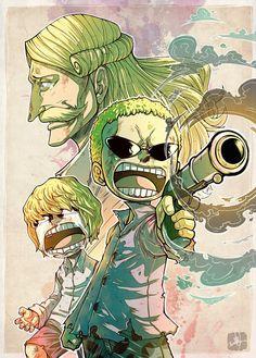 One Piece, Donquixote Doflamingo, Rocinante, Homing