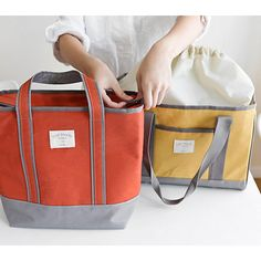 Invite.L waterproof Insulated Cooler tote bag lunchbox