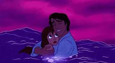 """I won't leave you!"" The Little Mermaid (1989)"