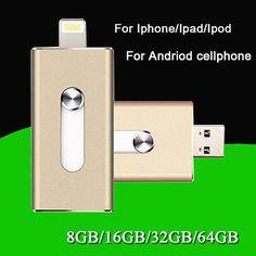 I-Flash Drive Storage FOR iPhone/iPad/iPod IOS 8pin USB Memory Stick 32GB OTG | eBay