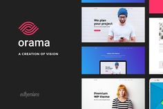 Orama - A Premium WordPress Theme Orama - Premium Responsive Multipurpose WP theme  Orama is a multi-purpose WP theme that will make the design life of your site much more easier. Whether general or specific-purpose websites, corporations, freelancers, agencies, photographers, designers, bloggers, you name it, Orama breaks the rules, adjusts to your creativity, and inspires you to create unique layouts to impress the world.