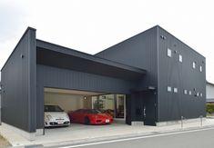 SE構法で叶えた強固なガレージハウス