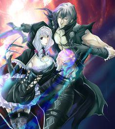 Soul Calibur V: Viola and Zwei Fan Art