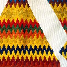 H'Africa détail 230 x 120 cm Tapisserie de haute lice