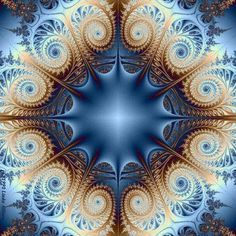 Fractalus Fractal by Allison Art