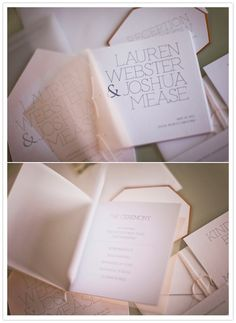 booklet wedding invitations #invitation #invitations #invites #invite #weddinginvitation