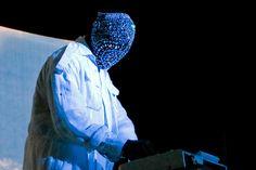 Kanye West. Revel. Martin Margiela diamond mask